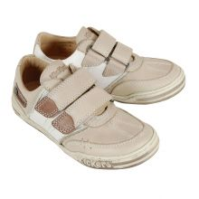 Kickers Jinno beige en cuir