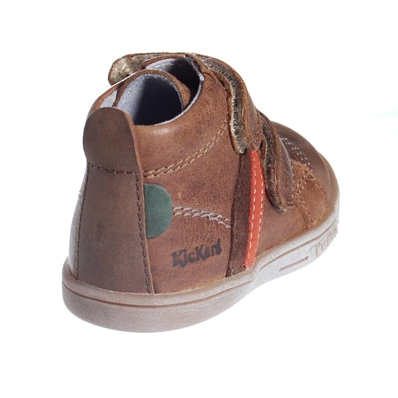 chaussure enfant kickers taylor en cuir gar on. Black Bedroom Furniture Sets. Home Design Ideas
