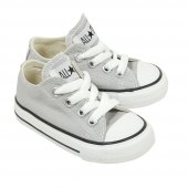 Converse ctas core ox canvas gris clair