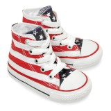 Converse all star stars & bars hi canvas