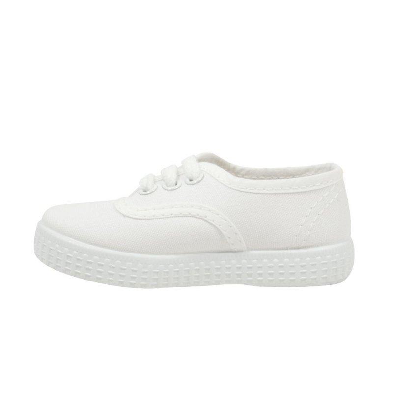 4851e2da2f4ad chaussure toile blanche garcon
