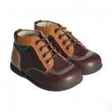 Kickers Babystart marron en cuir