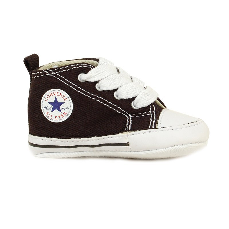 converse b b fille first star noire en toile. Black Bedroom Furniture Sets. Home Design Ideas