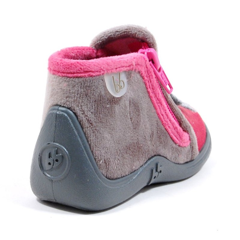 babybotte majik chouette pantoufle pour b b fille taille 18 19 20 21 22 23 24 25. Black Bedroom Furniture Sets. Home Design Ideas