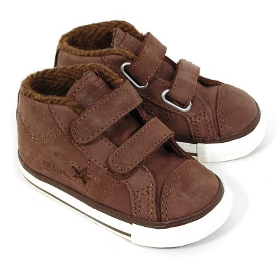 converse enfant marron