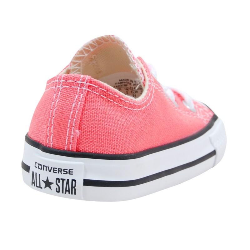 converse bebe fille rose
