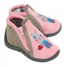 Babybotte Majik Souris rose et gris