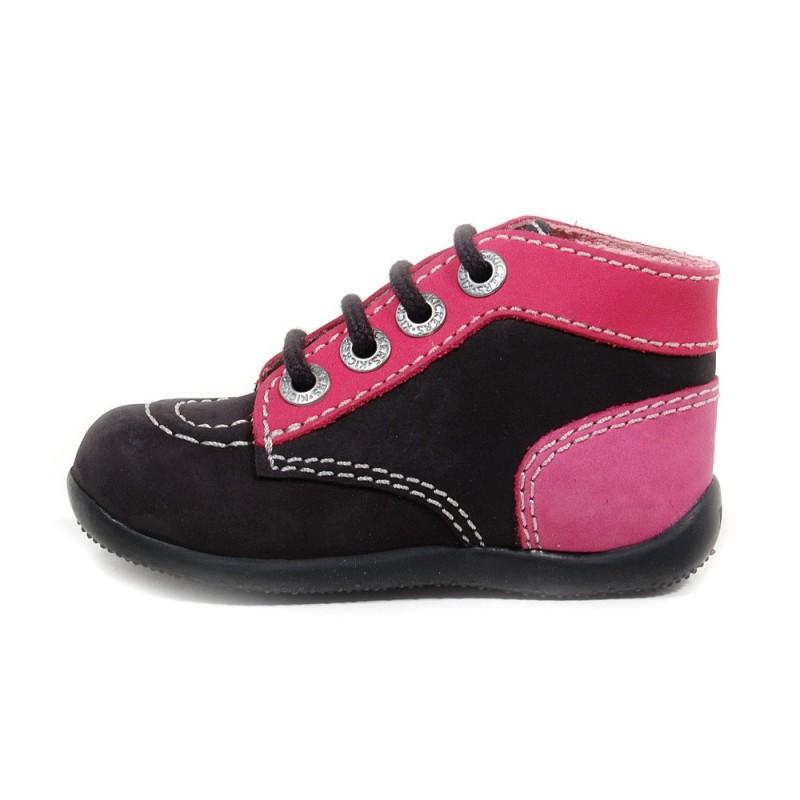 Chaussures Kickers Bonbon roses fille bqVwQQyOAo