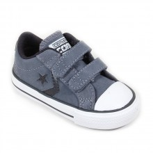 Converse Star Player 2 velcros suede ox gris