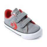 Converse Star Player 2V CVS gris rouge