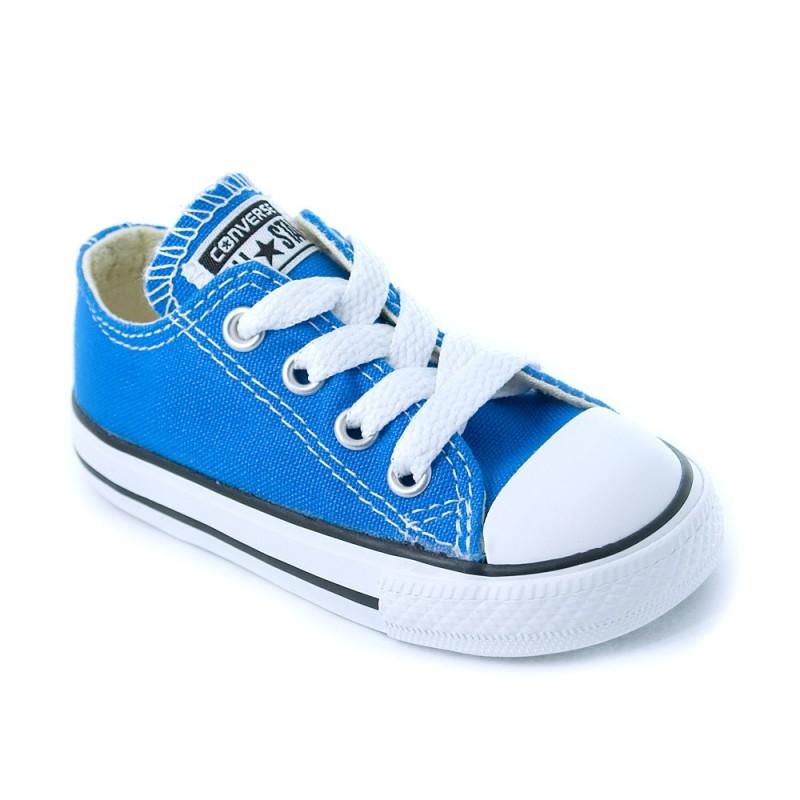 converse bebe bleu