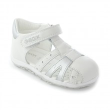 Geox B Bubble E Blanc silver