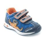 Geox B Teppei B C Bleu marine Orange