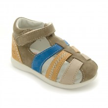 Kickers Babysun Marron bleu