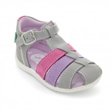 Kickers Bigfly Gris Violet clair