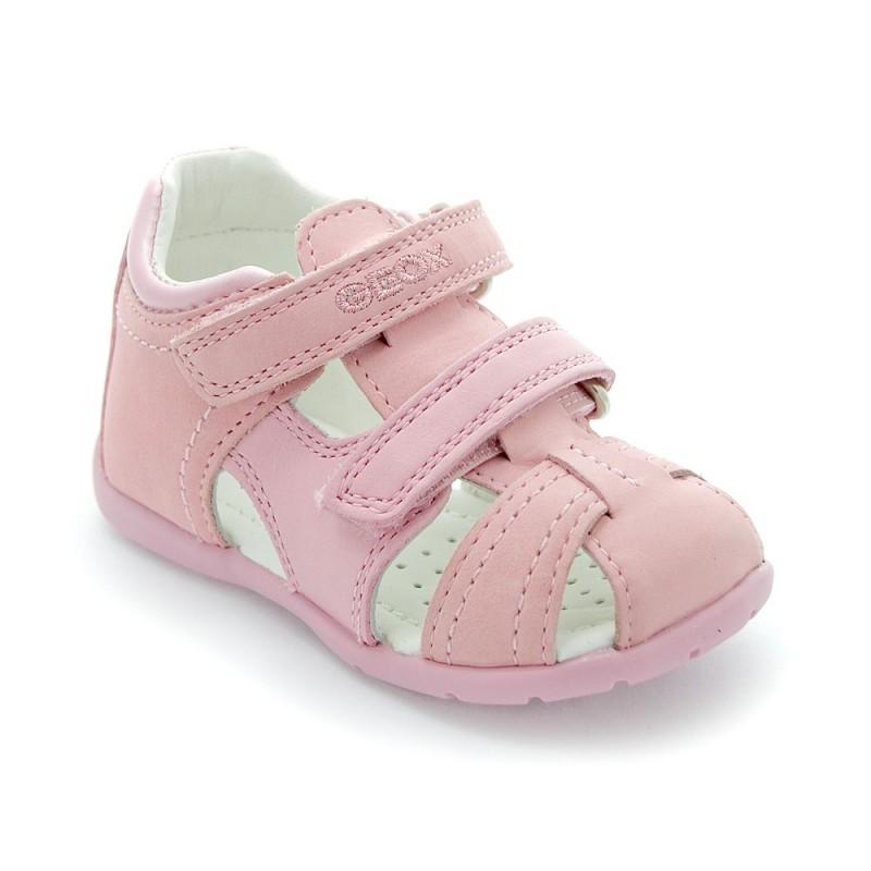 geox b kaytan gg nappa pink sandale b b fille. Black Bedroom Furniture Sets. Home Design Ideas