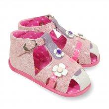 Sandale Babybotte Gentiane rose